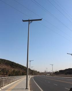 铝合金路灯杆